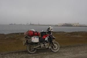 Prudhoe Bay, ein letzter Blick zurück