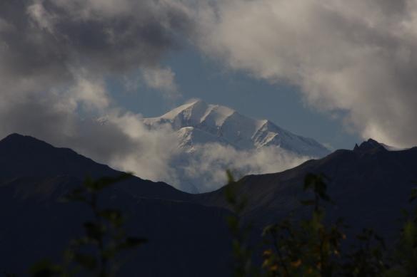 Der Denali, höchster Berg Nordamerikas (6194m)