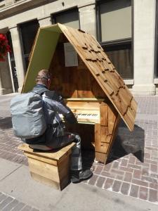 ein öffentliches Piano - in Calgary