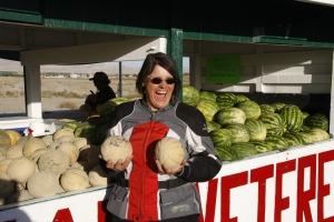 Green River ist berühmt für Melonen... hm lecker