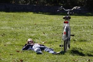 Parkbesucher - relaxen!