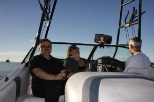 Unsere Gastgeber in Vancouver/Surrey und auf dem Boot: Roy und Lynn, Paul