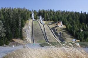 olympische Skisprungschanzen von 2010