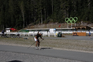 Biathlonstadion in Whistler (Olympia 2010)