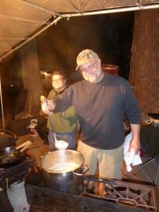 Der Pilzmeister mit seiner Suppe: Wayne