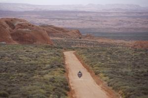 Hole-in-the-Rock-Road, ein ruhiger Abschnitt
