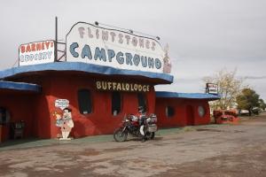 Ein besonderer Campingplatz am Wegesrand