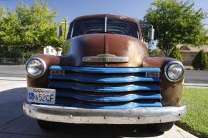 Der alte Chevrolet 3100 von 1950