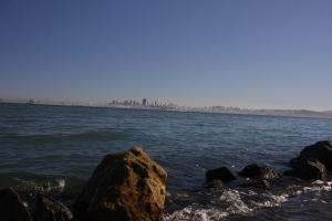 San Francis von Sausalito aus gesehen