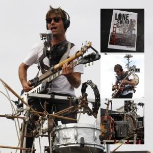 Einer der vielen Straßenmusiker