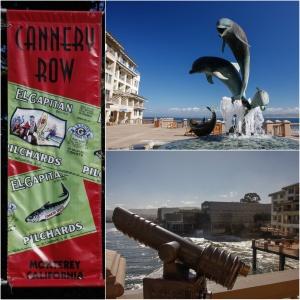 Die Cannery Row in Monterey, John Steinbeck hat ihr mit seinem gleichnamigen Roman ein Denkmal gesetzt