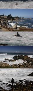 Impressionen am Pebble Beach vor Big Sur