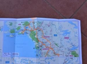 Fahrstrecke Alaska