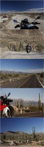 Landschaft und Straßenbelag wechseln ständig