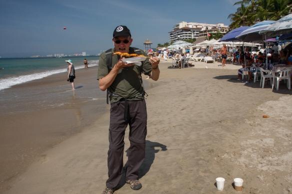 Shrimps on the beach , ne on the rocks - auf Kohle