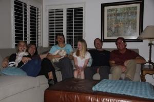 San Diego - Gastfreundschaft pur: Jilian mit Bella, Kim, B. mit Oskar, Jenna, M. und Dave