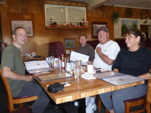 Susan, Dan und Danny jr.