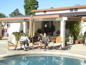 Unsere neue Sommerresidenz in LA - Chino Hills bei Dan und Susan.